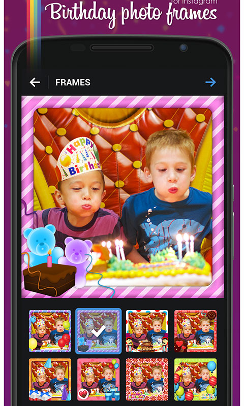 Birthday Photo Frames
