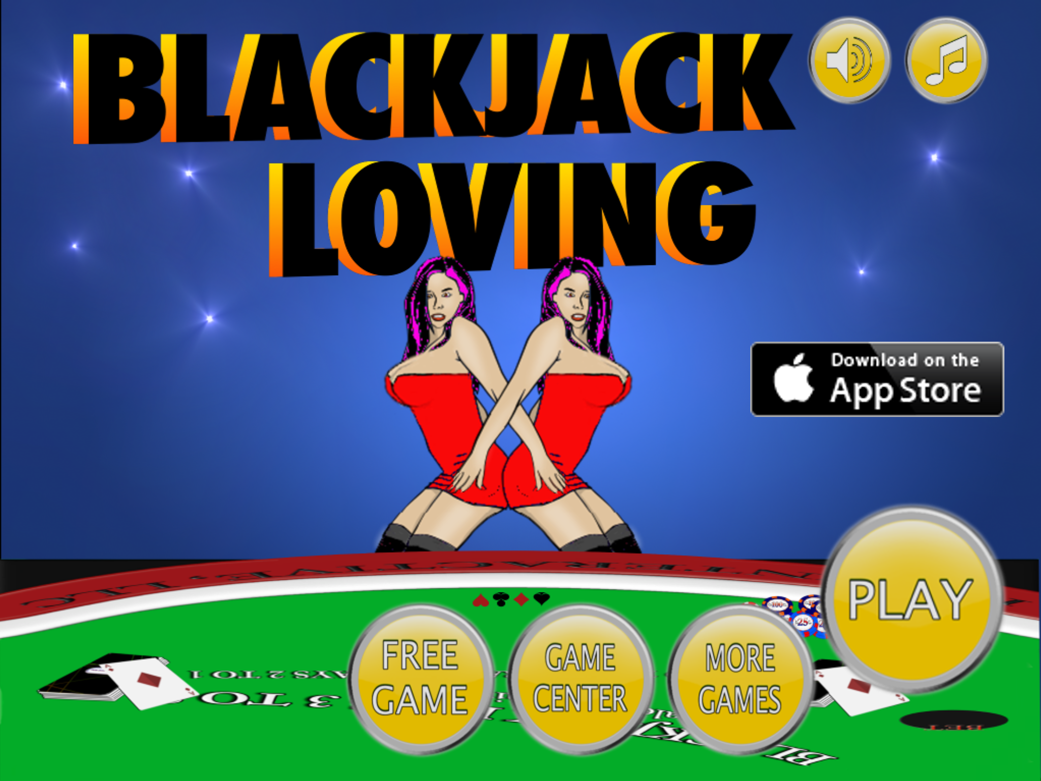 Blackjack Loving Free
