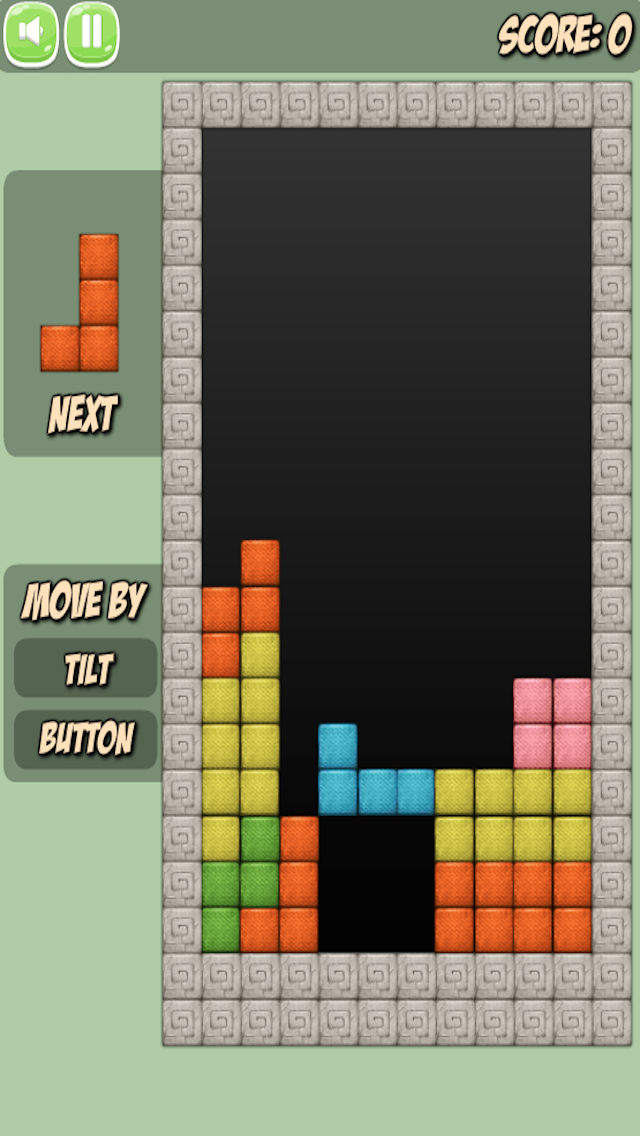 Block in a row