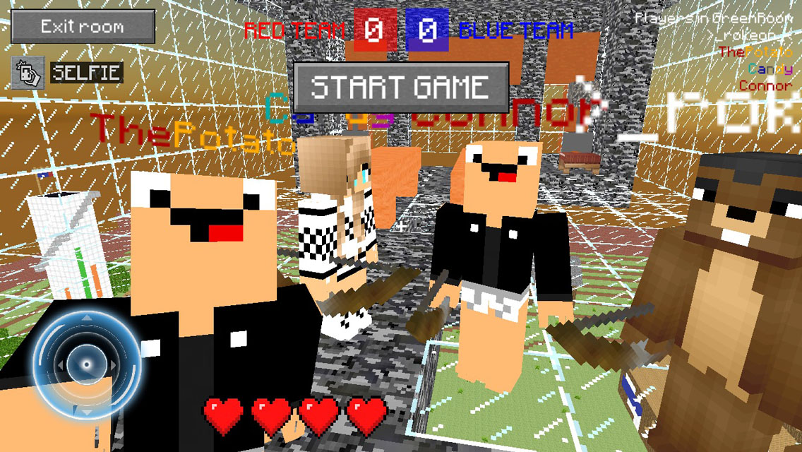 Blocky Multi FPS Minigame Mod – Capture the Block Edition
