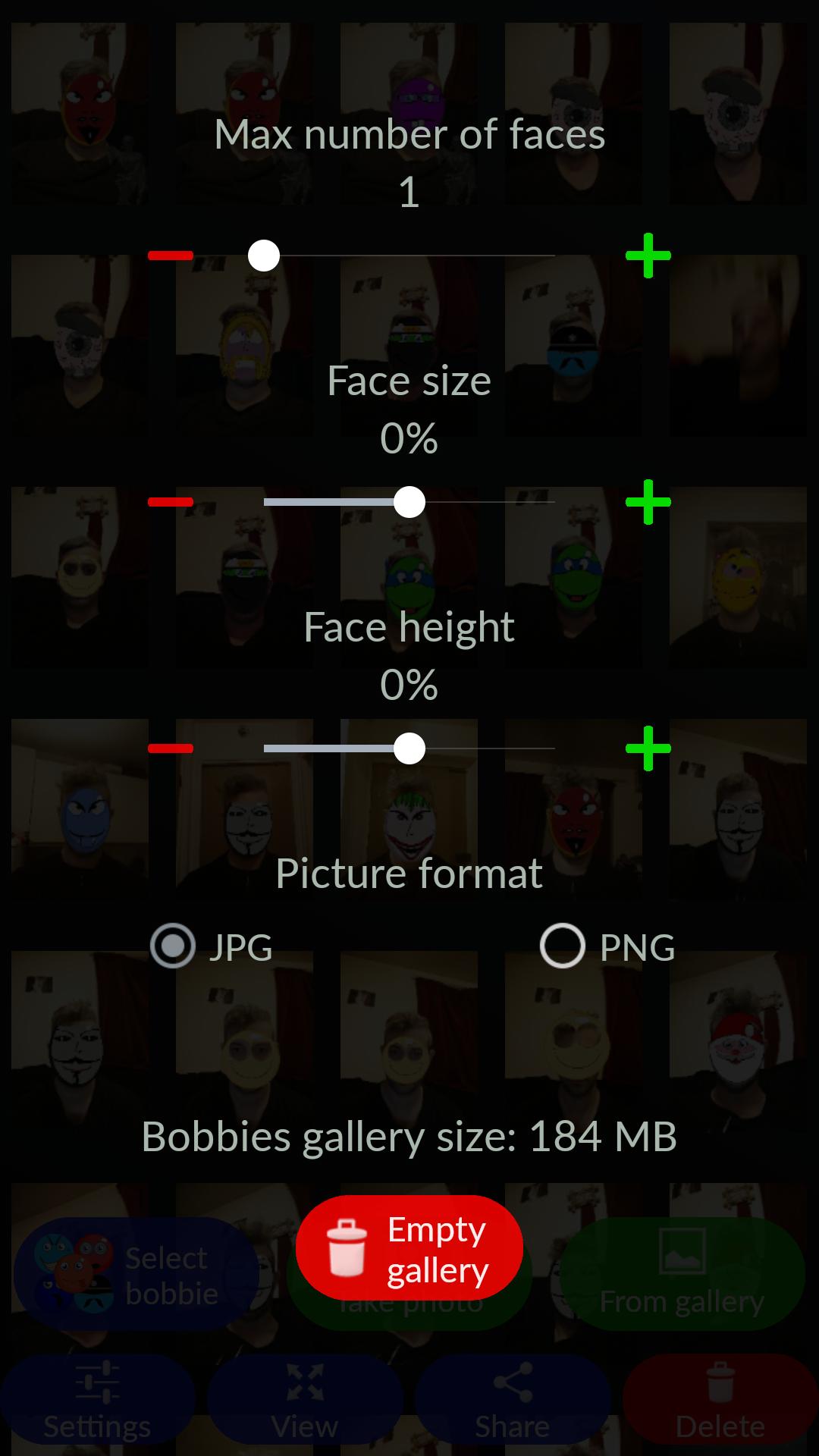 Bobbies Selfie Camera