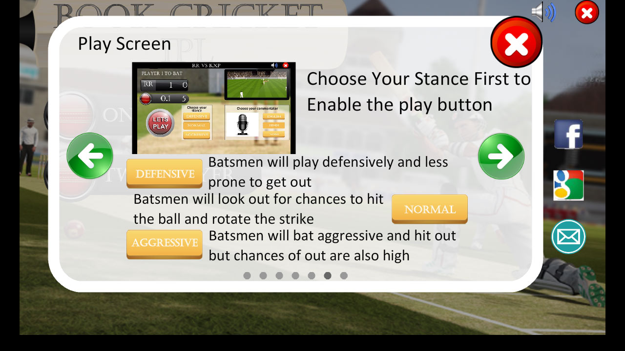 Book Cricket Simulator