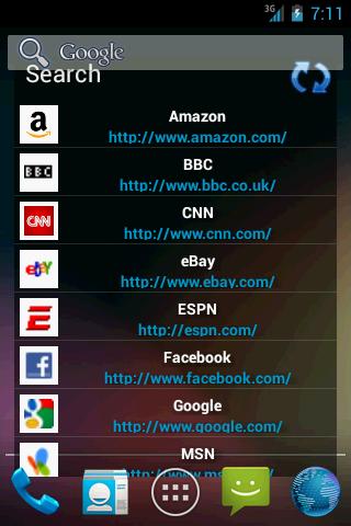 Bookmarks in a list Widget