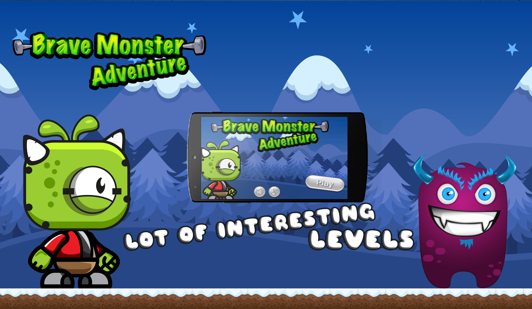Brave Monster Adventure