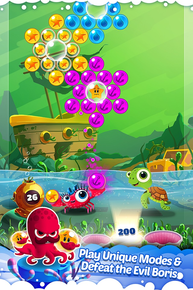 Bubble Heroes: Starfish Rescue