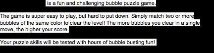 Bubble Shift Mania