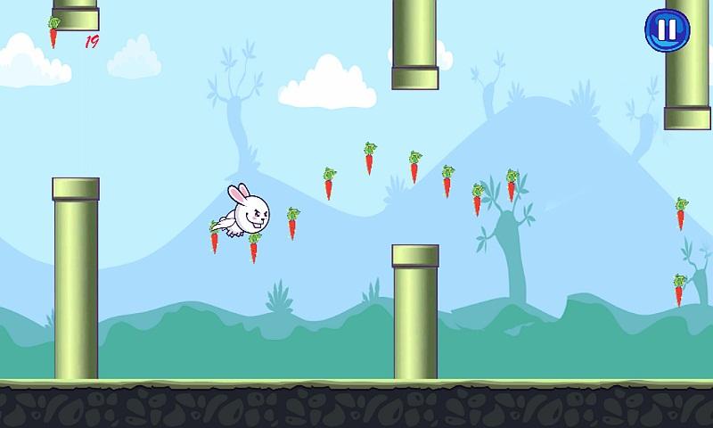 Bunny Flap : Eat The Carrots