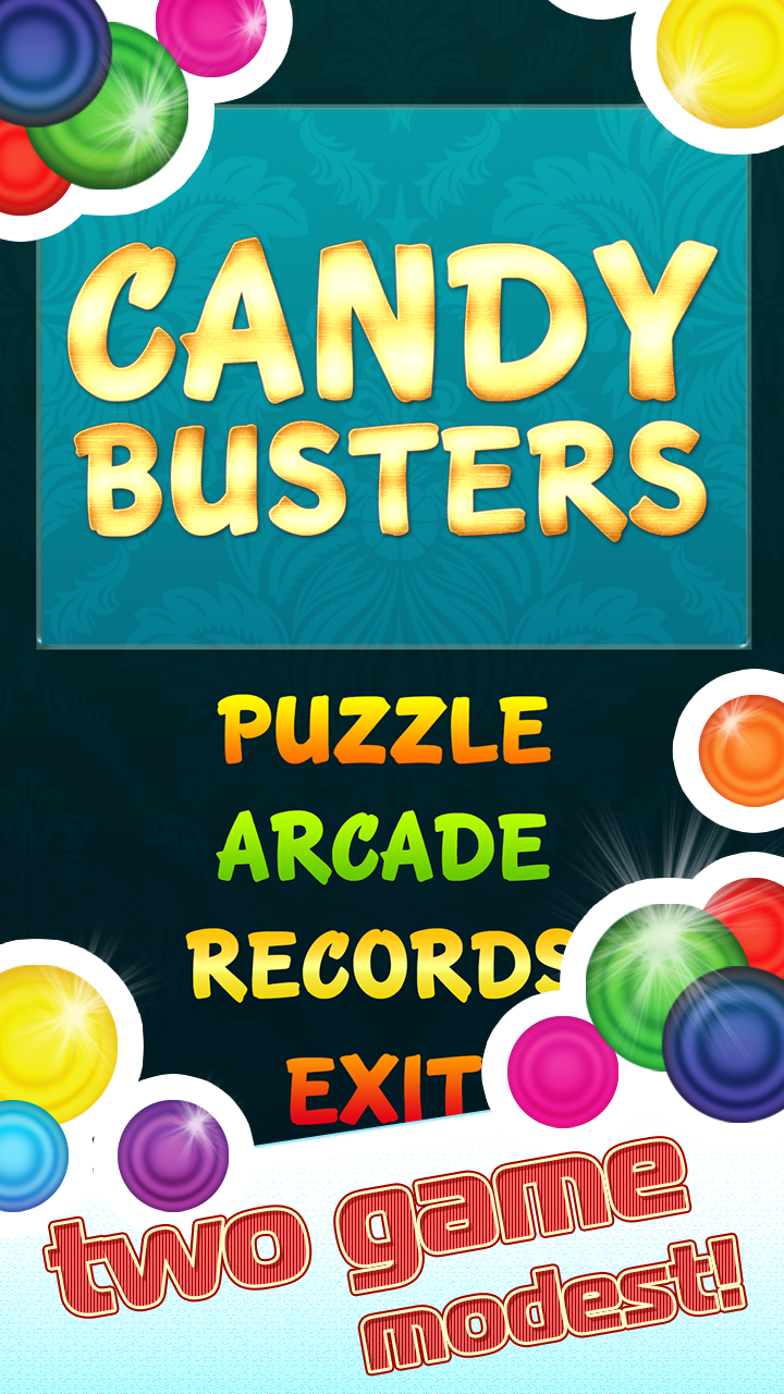 Candy Busters Bubble shoot