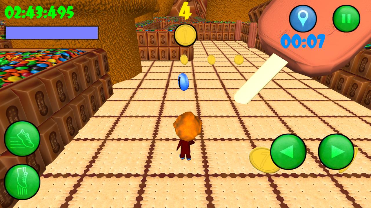 Candy Maze 3D