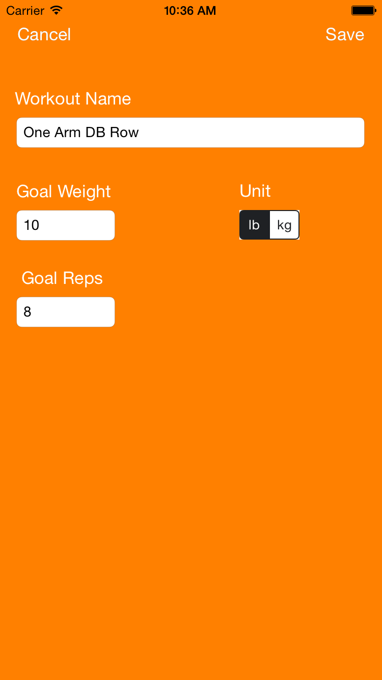 CardioWorkoutTracker