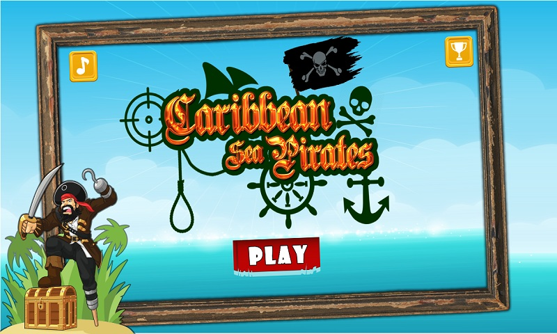 Caribbean Sea Pirates – A revenge battle for gold treasure