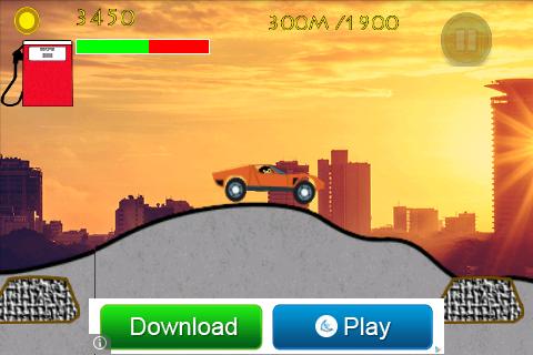 Cars Hill Climbing Race