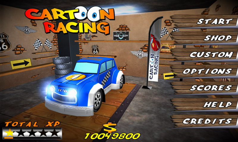 Cartoon Racing Free