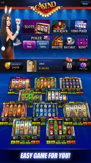 Casino Live – Holdem, Slots, Video poker, Blackjack, Roulette