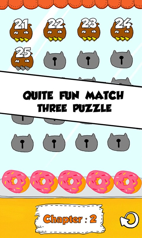 Cat Match Three Puzzle