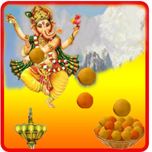 Catch Ganesh Laddu