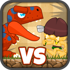 Caveman Dinosaur Tower Defense