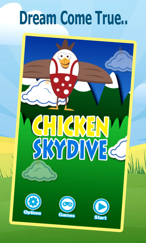 Chicken Skydive