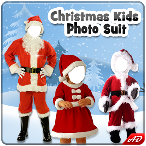 Christmas Kids Photo Suit New