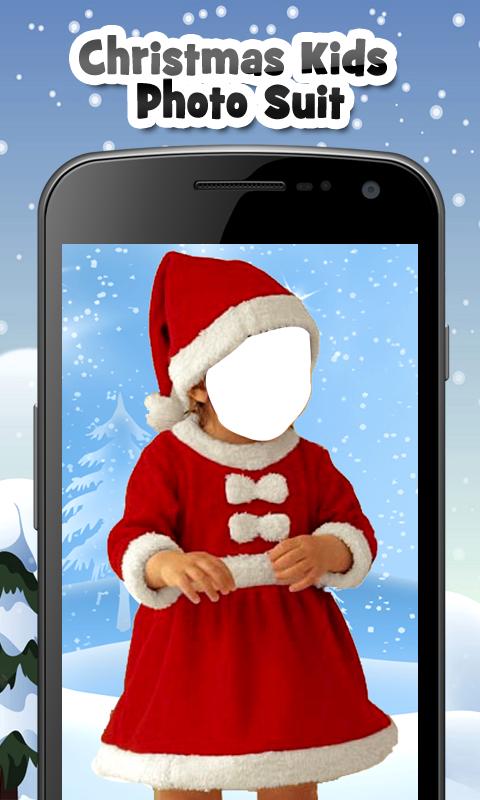 Christmas Kids Photo Suit New