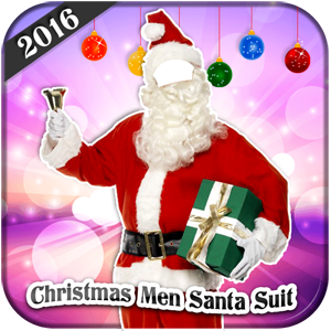 Christmas Men Santa Suit