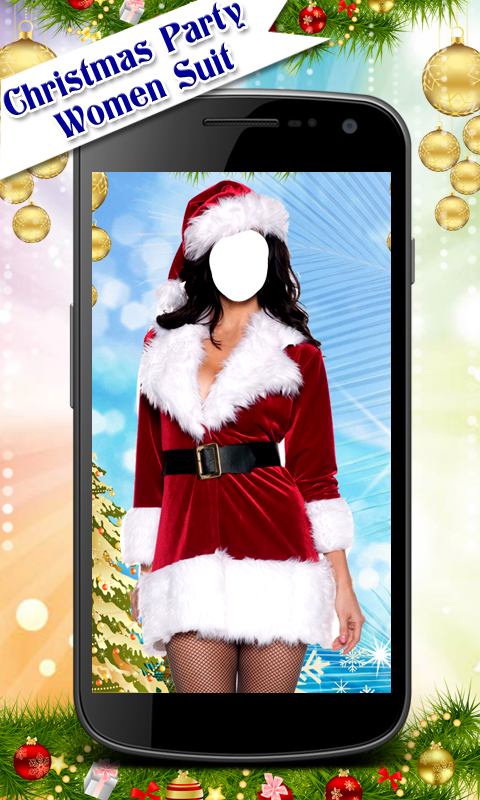 Christmas Party Women Suit