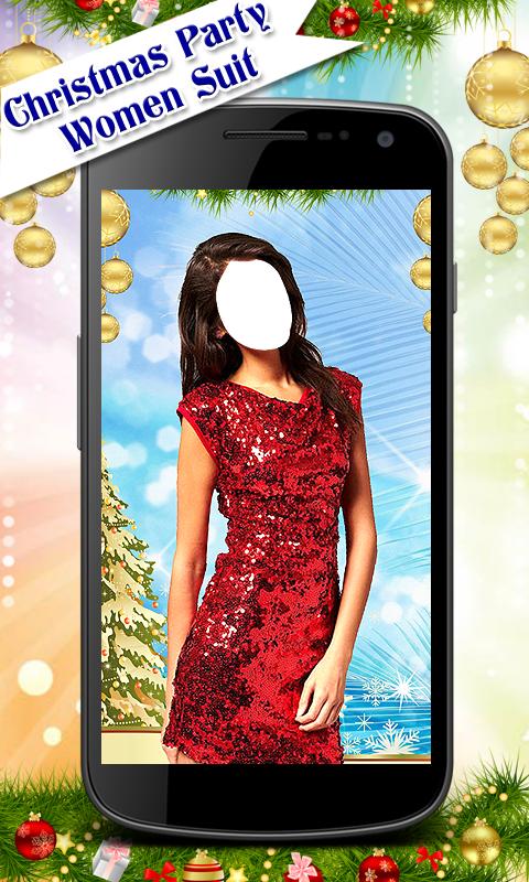 Christmas Party Women Suit