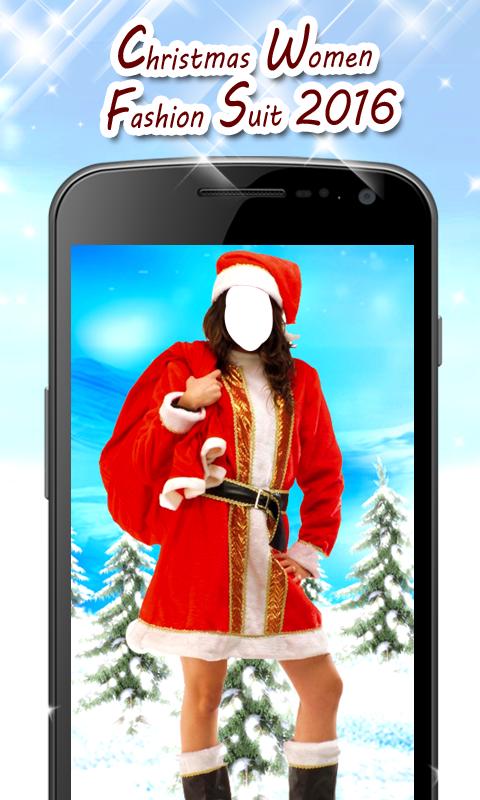 Christmas Women Fashion Suit