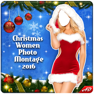 Christmas Women Photo Montage