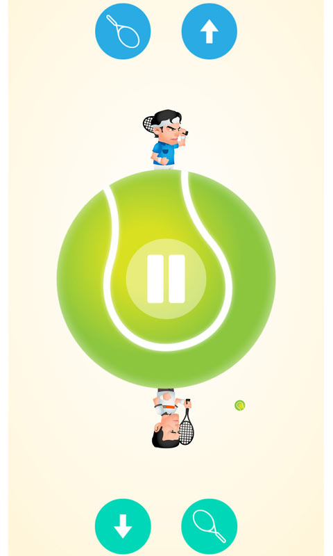 Circular Tennis 2 Player Games
