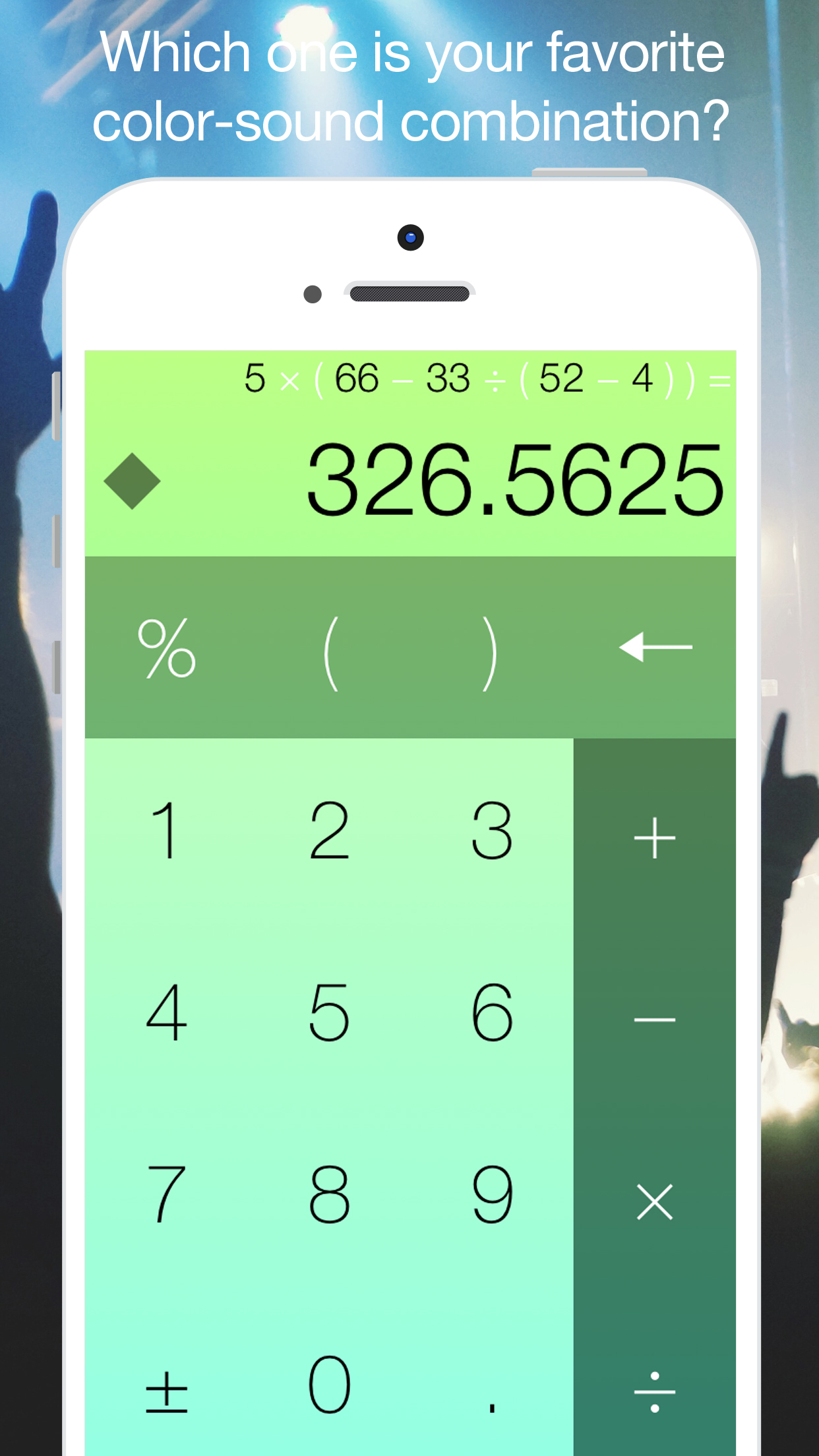 Classicalc – watch this beautiful calculator play piano music!