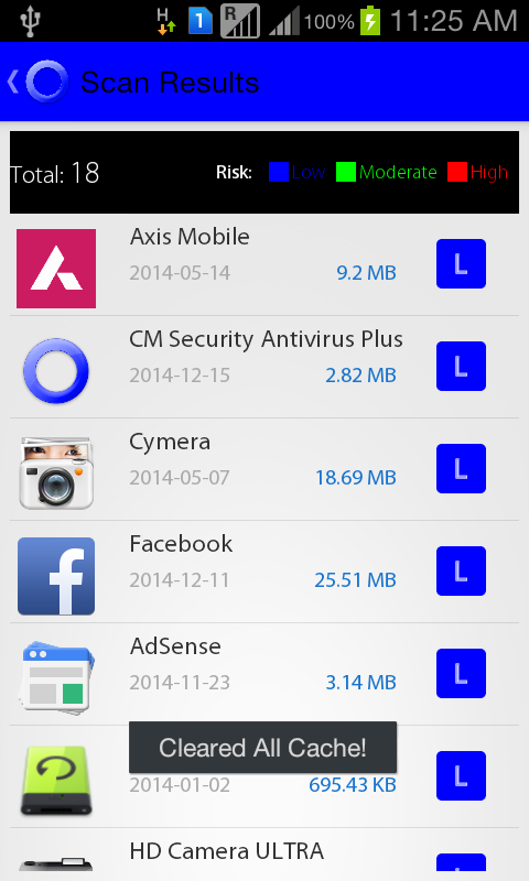 CM SECURITY ANTIVIRUS PLUS