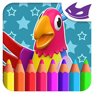 Cockatoo: 3D Coloring for kids
