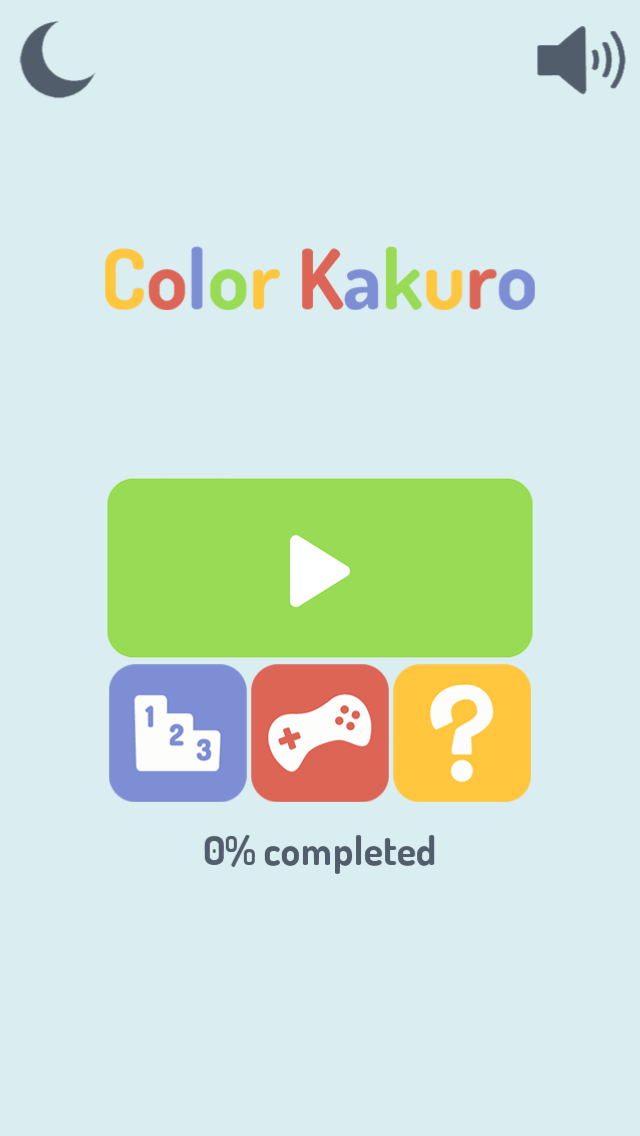 Color Kakuro