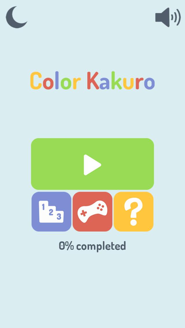 Color Kakuro