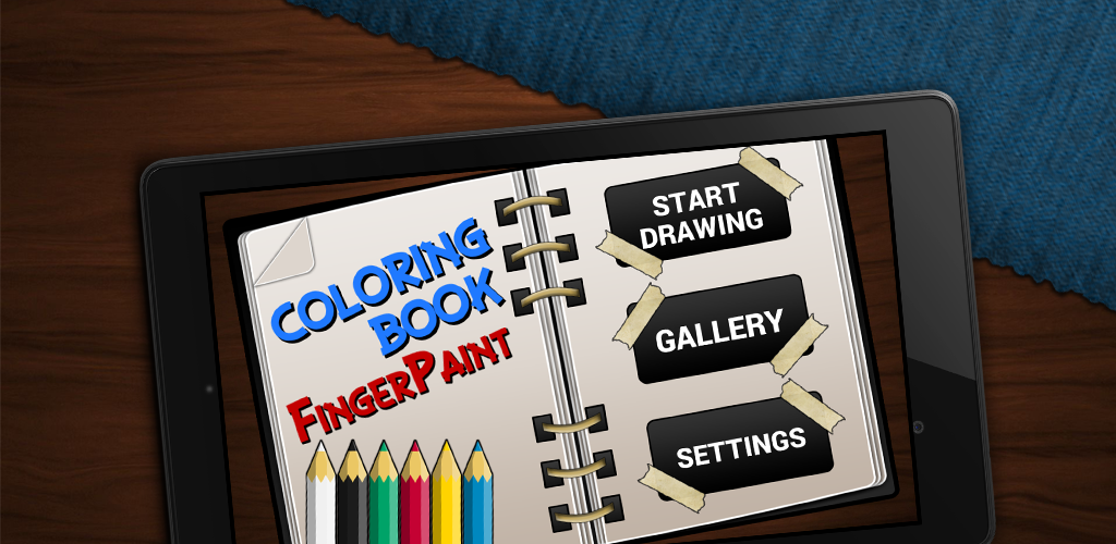 Coloring Book FingerPaint