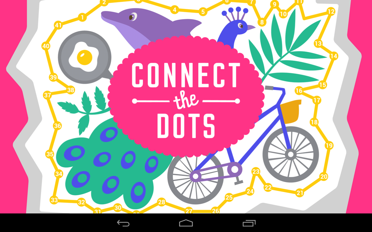 Connect the dots learn numbers