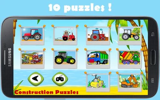 Construction Puzzles for Kids