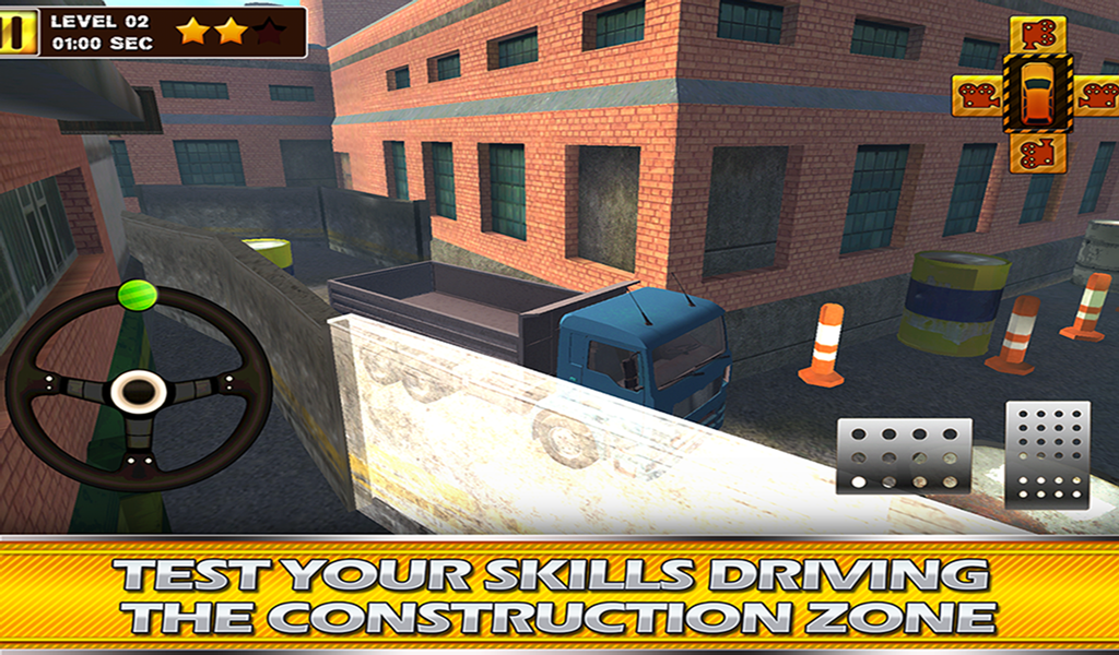 Construction Truck 3D Parking