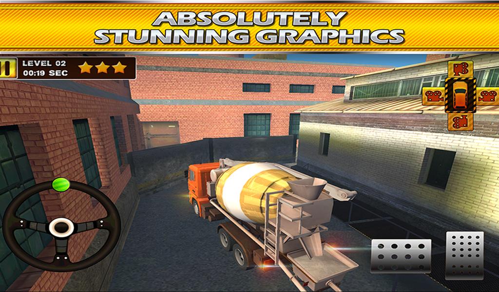 Construction Truck 3D Parking