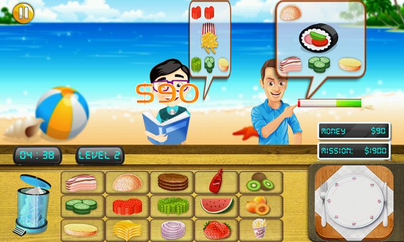 Cooking Chef Beach Bistro