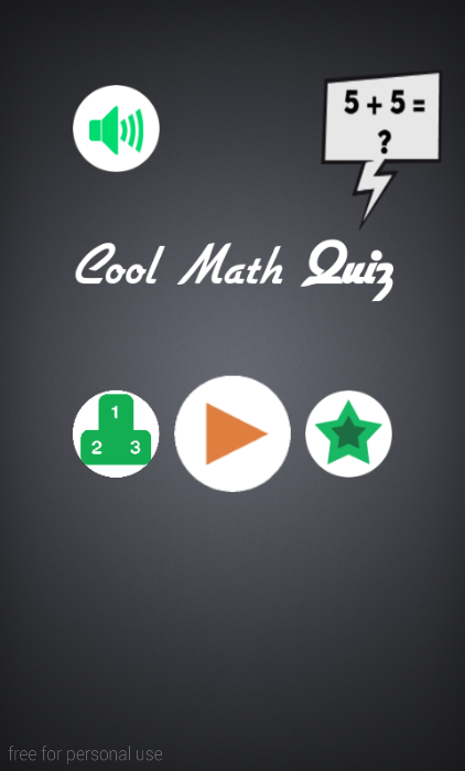 Cool Math Quiz
