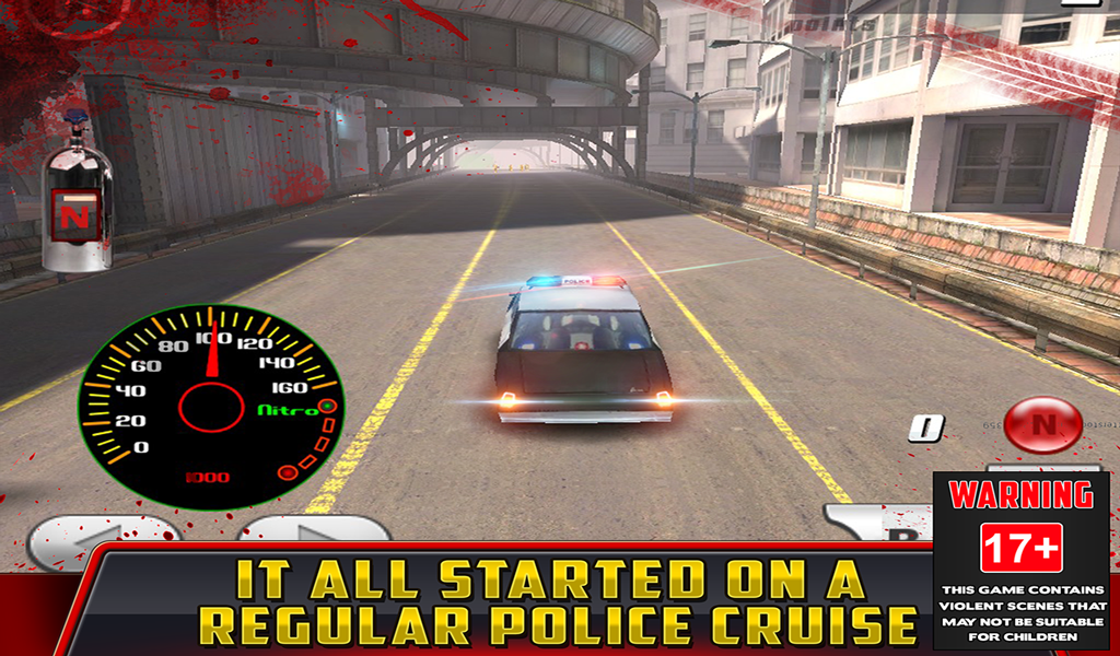 Cop Car Crash Racing CSR Chase