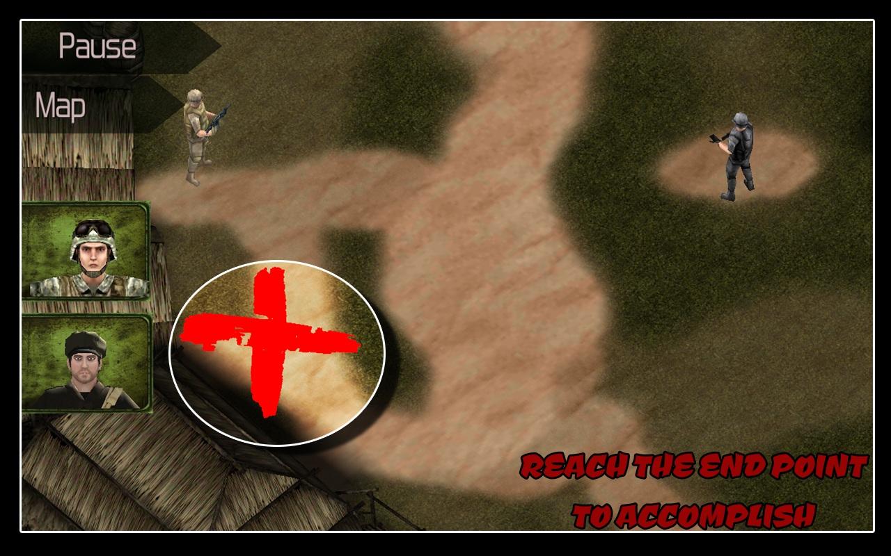 Cover art Commando Action War 2