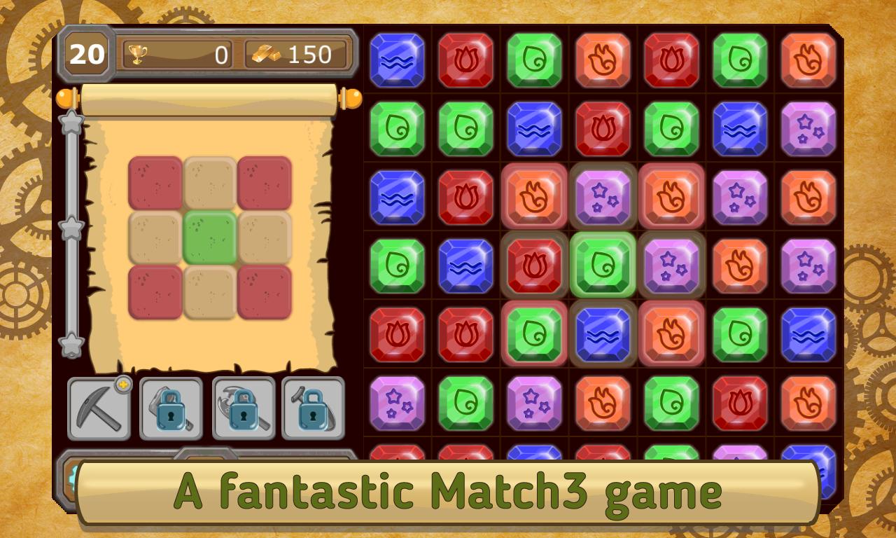 Craftsman – match 3
