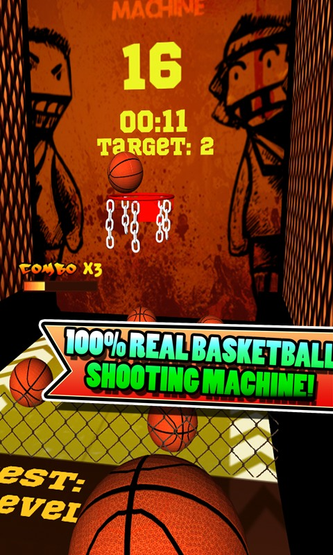 Crazy Basketball Machine