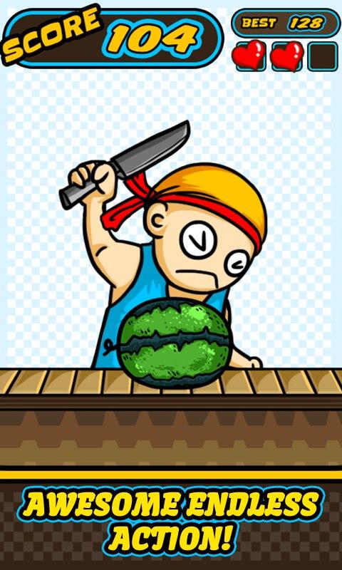 Crazy Chef vs Fruits