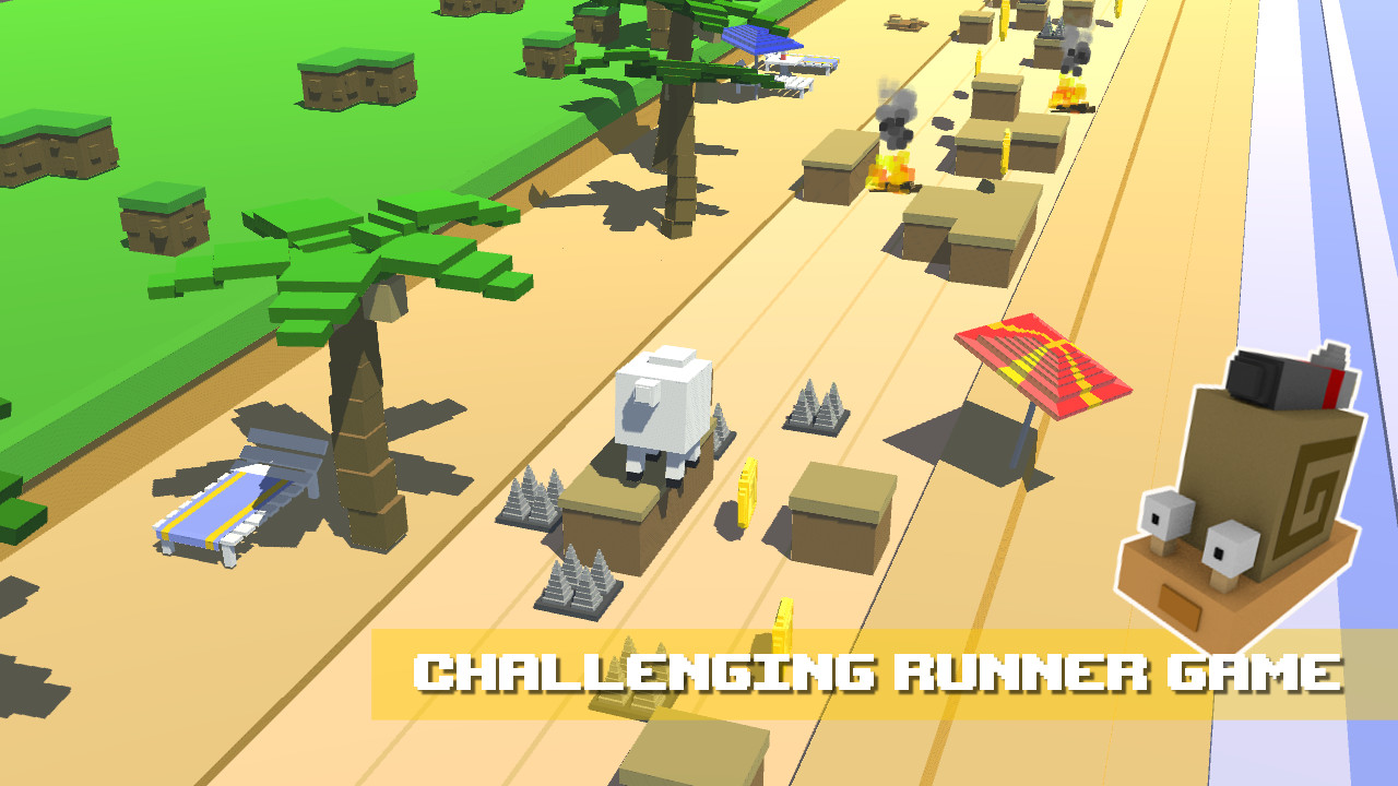 Cuby Creatures Running