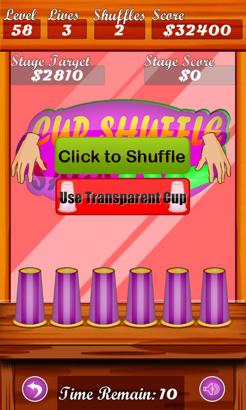 Cup Shuffle Saga