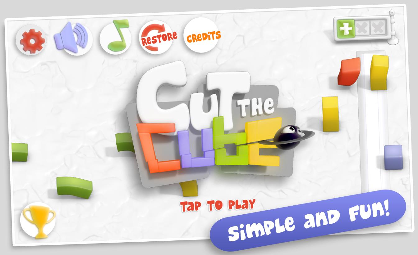 Cut the Cube